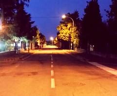 Street view (teresabarbieri) Tags: park street city light summer italy night dark goodnight luci nightlife notte citt oscuro summernight urbanstyle nottiestive