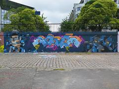Nantes, Dino-Arnem (Zerbi Hancok) Tags: nantes nantesgraffiti nantesstreetart quaidelaloire quai graffiti graff streetart walls