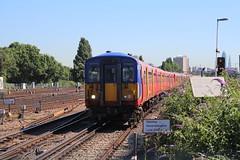 5702 (matty10120) Tags: west bus train south rail railway trains junction class clapham 455 transprot