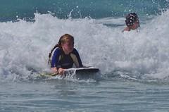 Concentration (Sundornvic) Tags: family fun beach surf bodyboard waves foam children cornwall gwynver sennen cove