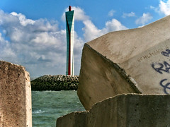 Oostende  201600808.0113 (Lieven SOETE) Tags: 2016 belgium oostende ostende ostend northsea noordzee mer du nord vuurtoren phare faro lighthouse