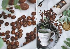 coffee love (Yulchonok) Tags: coffee mug diptych chocolate postcard canon