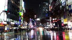 Dgenzaka in rain (DameBoudicca) Tags: tokyo tokio  japan nippon nihon  japn japon giappone shibuya  night natt nacht notte nuit noche  dgenzaka street gata strase calle rue strada  dogenzaka  rain regn regen lluvia pluie pioggia