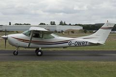 14/08/16 - Cessna 182G - G-OWRT (gbadger1) Tags: egbw wellesbourne mountford airfield matters sunday 14 fourteenth august 2016 cessna 182 g gowrt