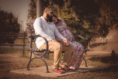 Ensaio Gestante - F & P. (higormarchionta) Tags: casal praça romântico gestante