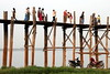 U-Bein Bridge (Alan1954) Tags: burma holiday myanmar wood bridge 2016 asia ubein platinumpeaceaward