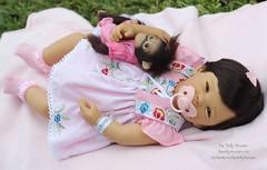 Masterpiece Doll MerryLee (thedollydreamer) Tags: masterpiecedolls merrylee doll realistic baby brunette blueeyes dorisstannat limitededition thedollydreamer vinyl fullvinylbody ashtondrakemonkey girl