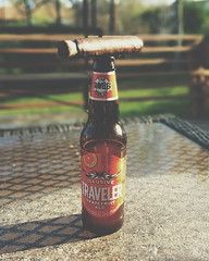 (Daswikinger) Tags: beer colorado afternoon relaxing ale cigar deck april ash grapefruit relaxation genesis tobacco stogie traveler 2015 illusive dasviking chrisharlanphotography deliciouscigars thetravelerbeerco daswikinger ramonbueso