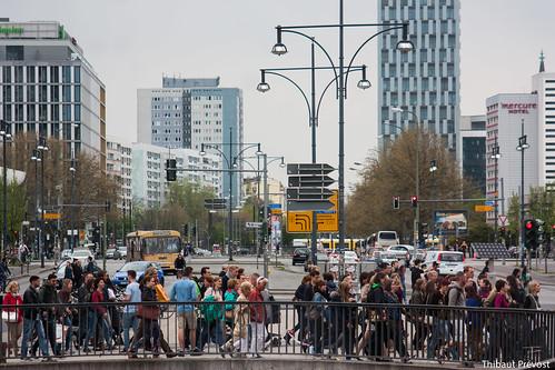 Dans les rues de Berlin