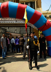 Cairo Abdeen Palace Orphan's Party Guard (Bruce Allardice) Tags: egypt palace cairo abdeenpalace abdeen khediveismail fuadi