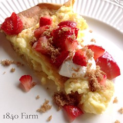 "Sunday mornings just don't get any more delicious than this!  http://1840farm.com/strawberry-puff-pancake-recipe/  #food #recipe #farmhousekitchen #makeyourown #breakfast #brunch #eggs #f52grams #mothersday • <a style=""font-size:0.8em;"" href=""http://www.flickr.com/photos/54958436@N05/16864456964/"" target=""_blank"">View on Flickr</a>"