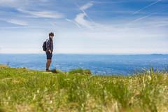 Matte (mr.martino) Tags: trip nature clouds landscape horizon plain matte
