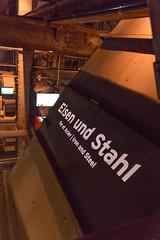 UNESCO Besucherzentrum in der Vlklinger Htte (vauku1972) Tags: museum htte saarland weltkulturerbe stahlwerk vlklingen