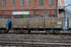 4044 Worcester Shrub Hill 260214 (Dan86401) Tags: wagon covered freight bogie jsa 4044 wos vtg worcestershrubhill steelcoil 6z47