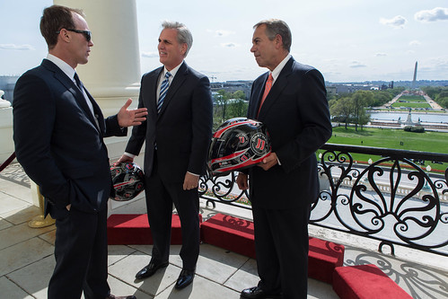Speaker Boehner talks with 2014 NASCAR S by SpeakerBoehner, on Flickr