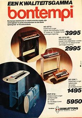 Bontempi (Nobo Sprits) Tags: music analog vintage magazine keyboard reclame organ instrument 70s tintin analogue keyboards electronic instruments synthesizer organs orgel advertentie bontempi orgels