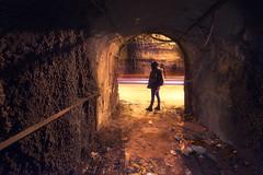 Tunnel night (inhiu) Tags: longexposure light night georgia lowlight nikon traffic trails tunnel urbanexploration brutalist d800 urbex inhiu