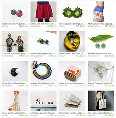 *May Trending Items* by VoDi Handcraft (alleluja) Tags: wood green box brooch treasury may knit tshirt blueberry etsy creature tote pendant vodi vodihandcraft