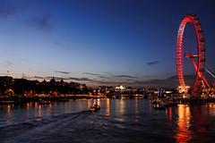 Eye see the night sky (fuadomran) Tags: london eye westminster thames night river lights nikon waterloo
