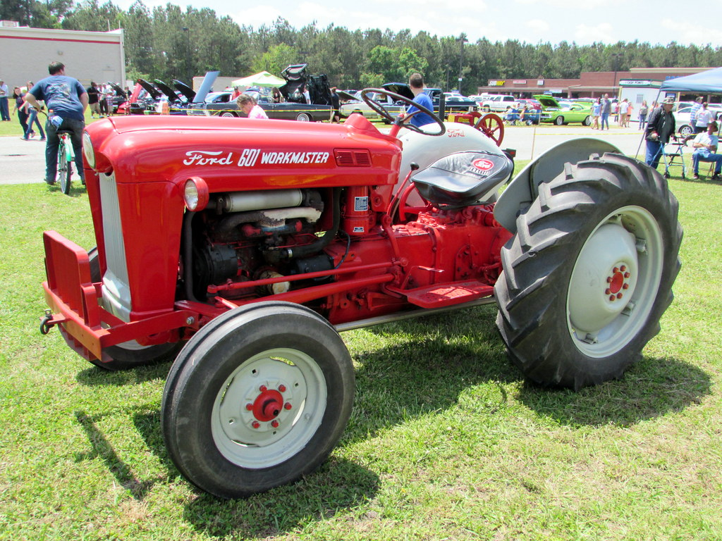 64 Ford 601 Tractor : The world s best photos of tractor and workmaster flickr