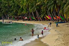 Beachgoers (lantaw.com) Tags: sea beach coastal tuka 2015 sarangani kiamba tukamarinepark