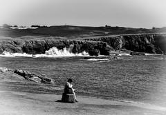 DSC_0110 (FlipperOo) Tags: voyage sea mer france color st rock port de nikon pierre vagues plage morbihan blanc roche arche quiberon instagramapp