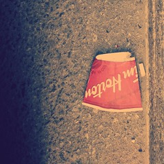 #TimmysTrash #10 (m.gifford) Tags: coffee garbage mug timhortons disposable timmystrash