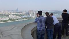 Panaroama View on Juche Tower (Daniel Brennwald) Tags: panorama korea northkorea pyongyang dprk juche nordkorea juchetower pjngjang