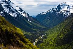 West Glacier (John Sieber) Tags: bicycle cycling montana glaciernationalpark cannondale nationalparks ridebikes goingtosunroad montanamoment