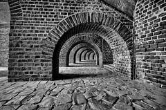 Amphitheater (efgepe) Tags: 2016 mai xanten amphitheater bw sw schwarzweiss blackwhite silverefexpro lightroom nik colonia ulpia traiana coloniaulpiatraiana