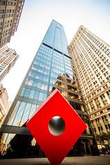 That Hole in His Heart (Thomas Hawk) Tags: nyc newyorkcity sculpture usa newyork architecture unitedstates fav50 manhattan unitedstatesofamerica thecube isamunoguchi fav10 fav25 fav100 brownbrothersharriman