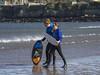 Skim Boarder 007 (KeithProvenArtist) Tags: sea beach sport scotland surf waves play fife standrews westsands skimboarder