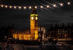 Spectale de nuit (Matthieu Manigold) Tags: england london monument night big nikon ben londres angleterre nuit magique spectale