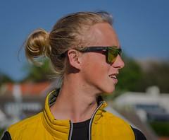 Windsurfing coach (frankmh) Tags: portrait skne coach sweden outdoor windsurfing windsurfer hittarp