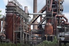 Iron World (Rainer ) Tags: color phoenix steel stahl industriekultur industrialaesthetics phoenixwest winderhitzer industryarchitecture blaststoves industriesthetik rainer