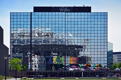 Willis / Amsterdam HQ (Images George Rex) Tags: holland netherlands amsterdam modern reflections nl willis offices glazing curtainwall amsterdamarena imagesgeorgerex photobygeorgerex