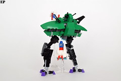 MA-08 Big Zam (ExclusivelyPlastic) Tags: anime mobile japan robot big lego suit armor gundam zam mecha grumps mech
