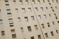 DSC_5436 [ps] - Make Up (Anyhoo) Tags: urban window wall architecture facade germany flat saxony leipzig flats domestic rows sachsen repetition monolith plain gdr faade habitation ranks anyhoo gdrarchitecture gottschedstrase photobyanyhoo