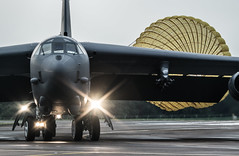Moody BUFF (Nick Collins Photography, Thanks for 1.8+m views) Tags: canon flying mt aircraft aviation military north wing boeing bomb bomber usaf 5th dakota 23rd 100400mm raf squadron fairford afb barons minot stratofortress b52h 7dmk2
