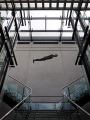M A G - Antony Gormley (G E G / VEVZE) Tags: art architecture modern manchester gallery staircase anthony gormley