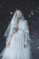 Winter's call (Adam Bird Photography) Tags: winter snow ice fashion dark natural princess outdoor location queen story conceptual narrative adambird adambirdphotography
