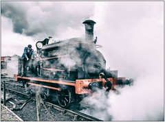 Steaming (Blaydon52C) Tags: industry train industrial tank smoke transport engine rail railway loco trains steam locomotive railways locomotion locomotives manning tanfield causey wardle sunniside causeyarch tanfieldrailway industrialrailways marleyhill easttanfield sirberkeley