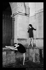 dancing #6 (Caterina Zito) Tags: portrait people blackandwhite bw monochrome dancer calabria biancoenero tropea pointeshoes ballerine ballerinaproject