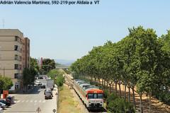 Naranjito (I) (Adrin Valencia Martnez) Tags: valencia naranja camello fgc renfe 592 aldaia