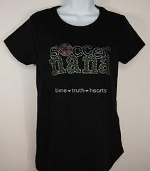 Soccer Nana model (TimeTruthHeartsNet) Tags: usa sexy sports shirt t tank soccer style tanktop nana bling futbol rhinestone
