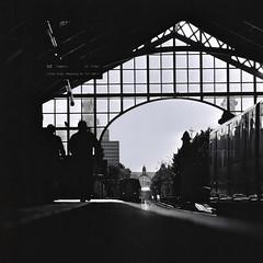 Bülowstraße #2 (ucn) Tags: berlin underground ubahn agfarodinal rolleiflexsl66 bülowstrase sonnar250mmf56 developer:brand=agfa developer:name=agfarodinal adoxcms20ii filmdev:recipe=10847