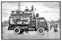 PiranhaTruckWeb (Mike Buick) Tags: bw fish film monochrome truck nikon scan fishtank f f3 nikkor hdr piranha carnie f3hp epson4990scanner mikebuick michaelbuick