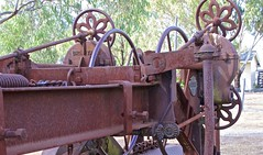 Britstand pull behind grader model no. 1010 (outback traveller) Tags: historic seq