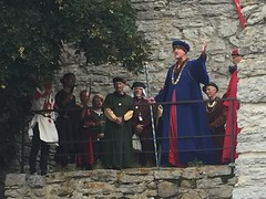 The Medieval Mayor opens Medieval Week 2016 (radiowood) Tags: gotland visby parade inauguration week medieval mayor