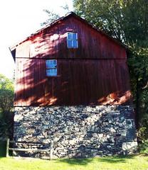 Barn 1 (D.L.Rutter) Tags: barn barns redbarn oldbarn nature nj newjersey oldstonebarn oldstone country